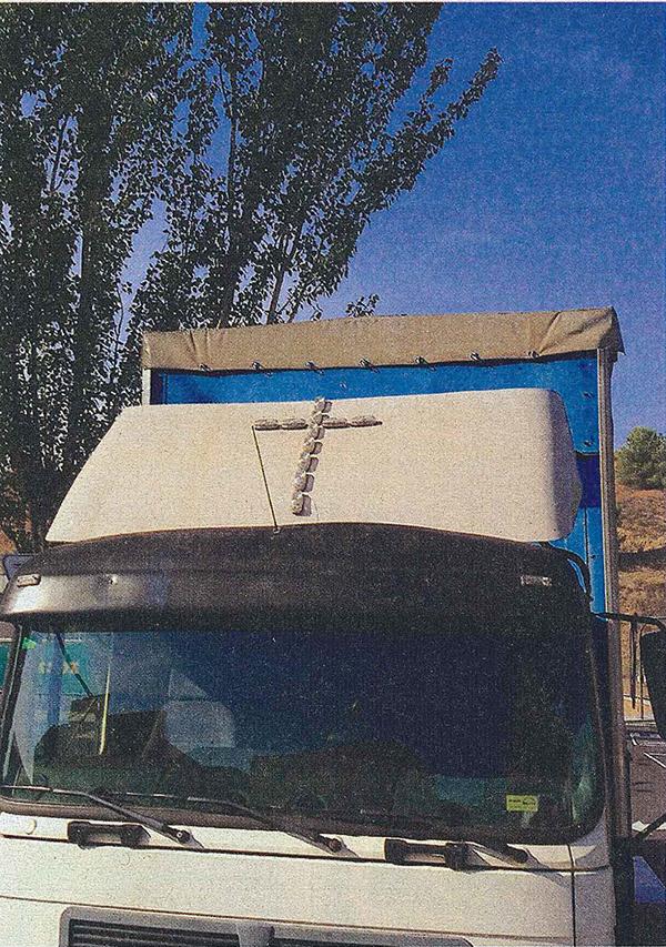 El camión de la cruz