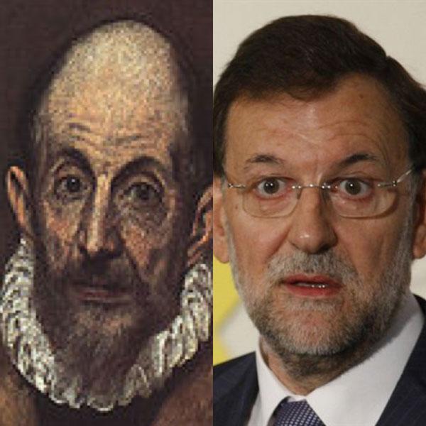 'El greco' + Mariano Rajoy