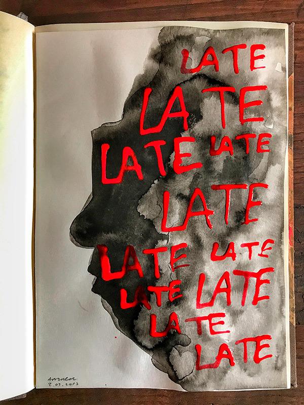 Late, late, late