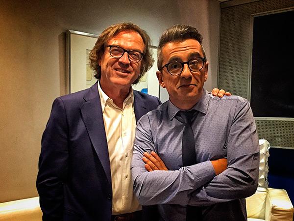 Pepe Navarro y Andreu Buenafuente