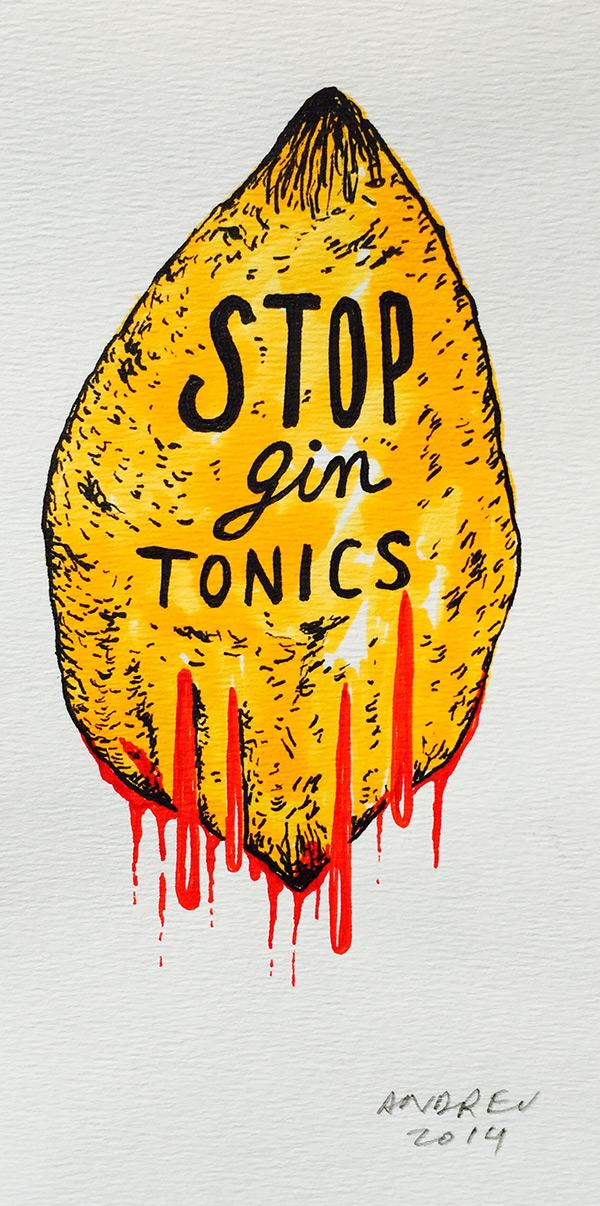 Stop gintónics