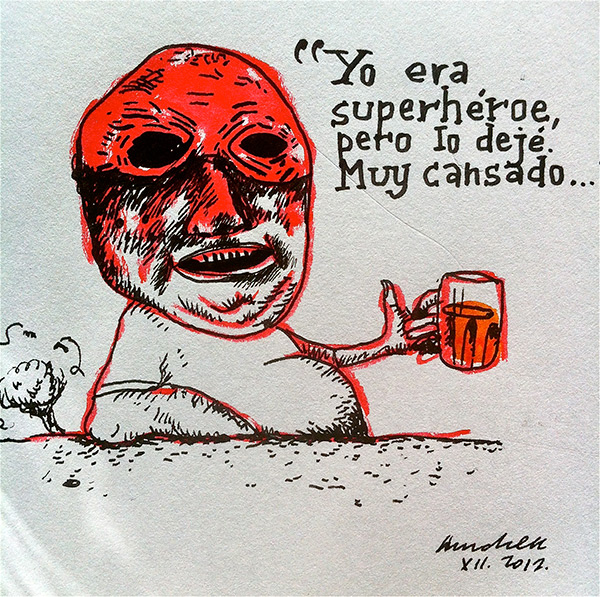Antiguo superhéroe