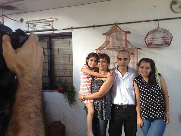Julián y familia