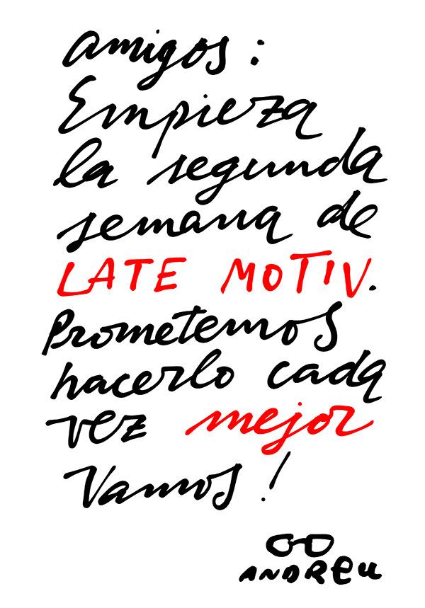 'Late Motiv'