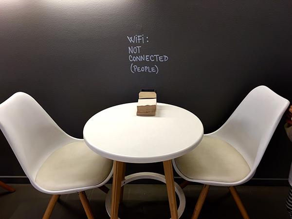 Sin wifi