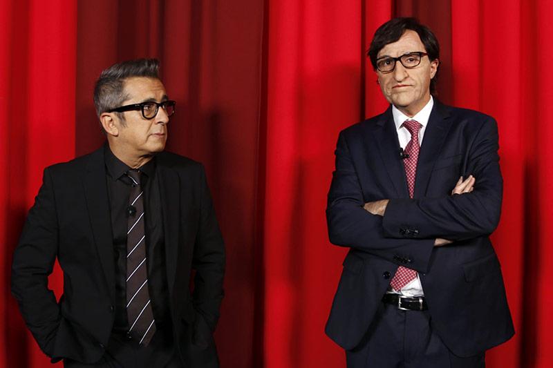 Andreu Buenafuente y Salvador Illa